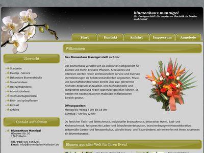 Blumenhaus Mannigel