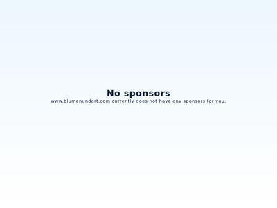 Blumen & Art