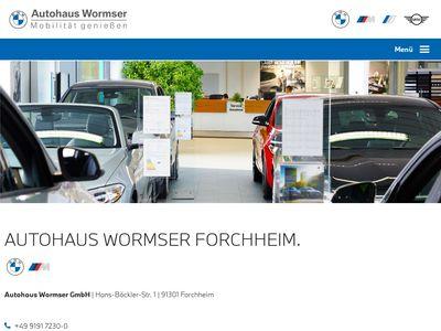 BMW Autohaus Wormser GmbH Forchheim
