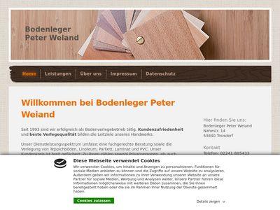 Peter Weiand Bodenleger
