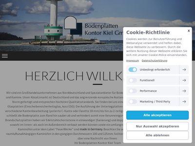 Bodenplatten Kontor Kiel GmbH - OfenOutlet