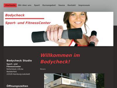 Bodycheck Hamburg Fitness ganz persönlich