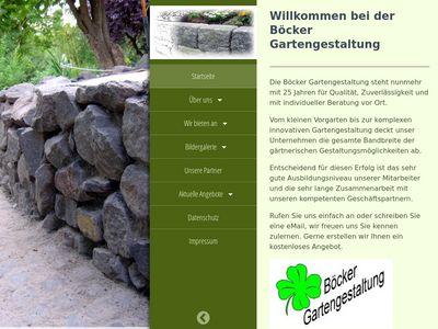 Böcker Gartengestaltung