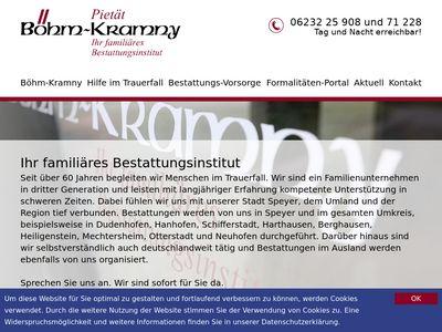 Bestattungsinstitut Pietät Böhm-Kramny