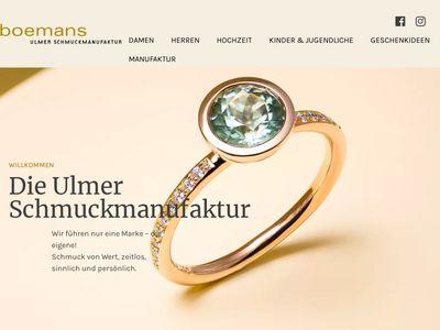 Boemans Ulmer Schmuckmanufaktur