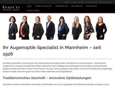 Born Brillen Optik Mannheim