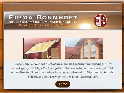 E. Bornhöft Rollladen- und Markisenbau