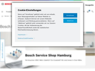 Bosch Kundendienst Hamburg
