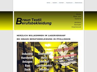 Textil Braun