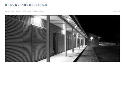 Brauns Architektur Architekt für Bauplanung