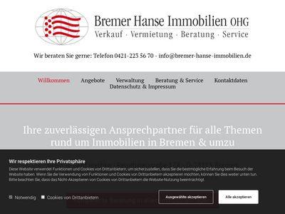 Bremer Hanse Immobilien OHG Immo