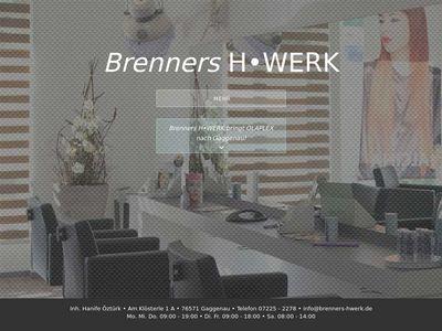 Friseur Brenners H. Werk