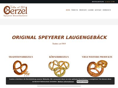 Berzel - Speyerer Brezelbäckerei