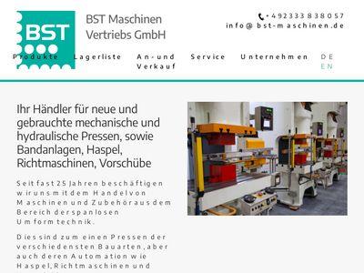 BST Maschinen-Vertriebs GmbH