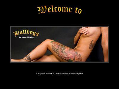 Bulldogs-Tattoo
