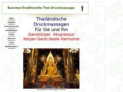 Bunchoo-Traditionelle Thai Druckmassage