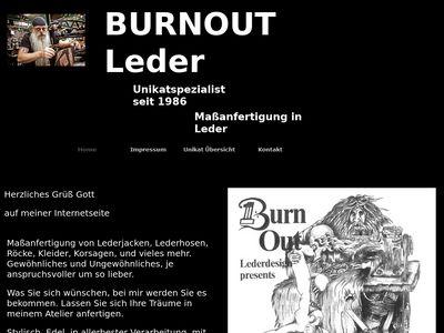 BURNOUT Leder