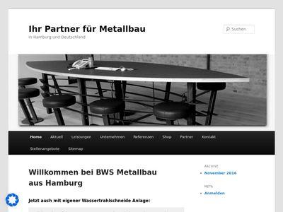 BWS Metallbau - Wasserstrahlschneiden