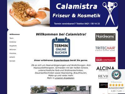 Calamistra Friseur + Kosmetik