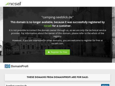 Campingplatz Seeblick