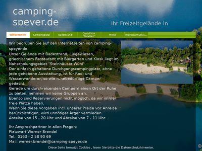 Camping-Speyer.de
