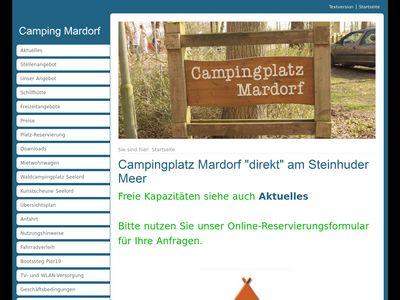 Campingplatz Mardorf