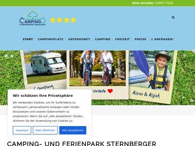 Camping Sternberger Seenlandschaft