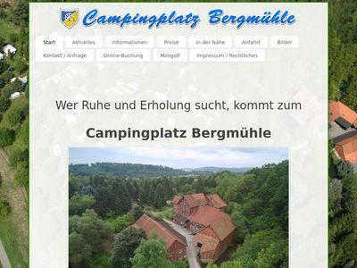 Campingplatz Bergmühle
