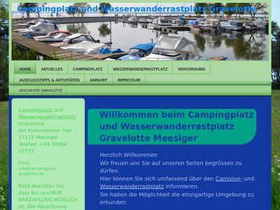 Startseite Campingplatz Gravelotte