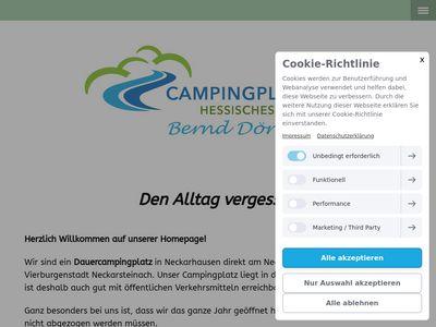 Campingplatz Hessisches Neckartal