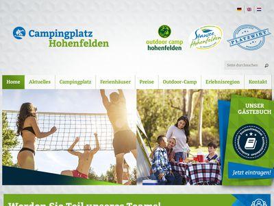 Campingplatz Stausee Hohenfelden