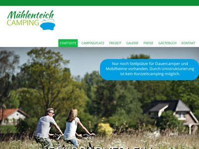 Campingplatz Zum Alten Mühlenteich