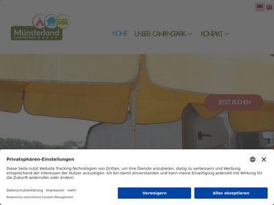 Campingpark Münsterland Eichenhof