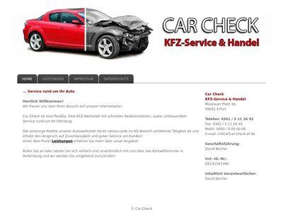 Car Check Kfz-Service & Handel