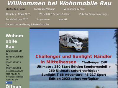 Wohnmobile Rau