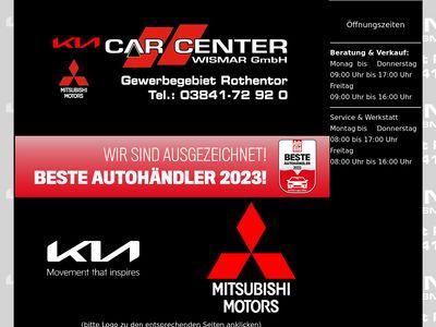 Car Center Wismar GmbH KIA Mitsubis