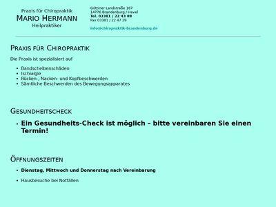 Mario Hermann-Chiropraktiker-Osteopath