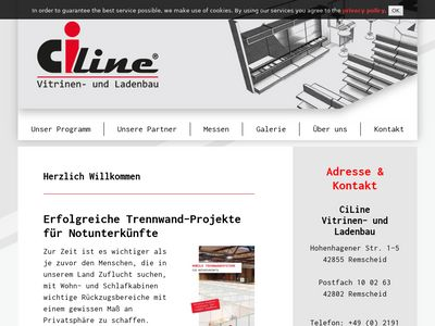 CiLine - Vitrinen- und Ladenbau