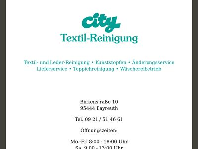 City-Reinigung Bayreuth