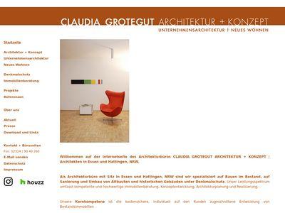 Claudia Grotegut Architektur + Konzept