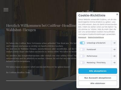 Coiffeur-Headline WT-Tiengen