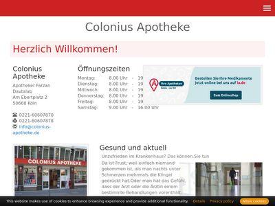 Colonius-Apotheke, Inh. Farzan Davtalab