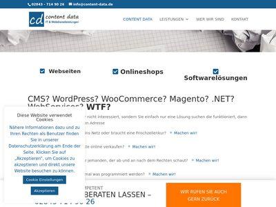 Content-Data Webdesign