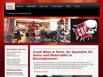 Crash Bikes & Parts