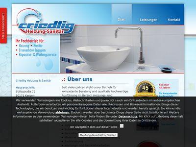 Criedlig Heizung & Sanitär