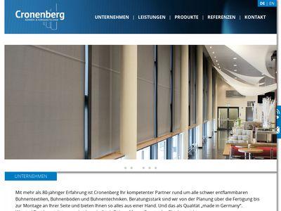 Cronenberg GmbH & Co KG, Dieter