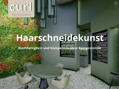 Curl. hairdressers