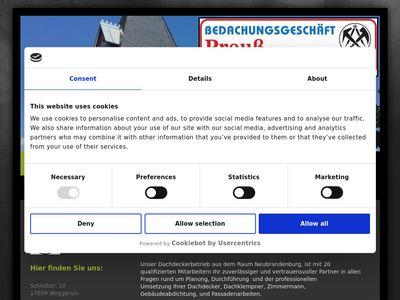 Bedachungsgeschäft Preuss GmbH