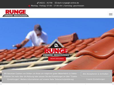 Zimmerei D. Runge GmbH & Co. KG