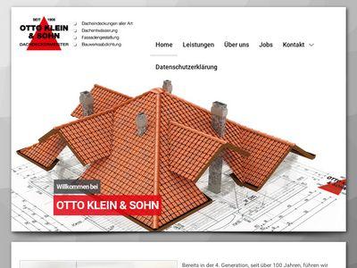 Klein Otto-Reinhard & Sohn Dachdeckermeister